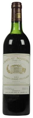 Château Margaux, Margaux, 1er Cru Classé, Bordeaux, 1983