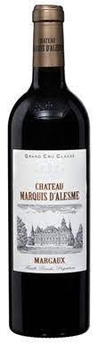 Château Marquis d'Alesme, Margaux, 3ème Cru Classé, 2020