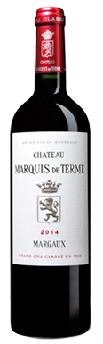 Château Marquis de Terme, Margaux, 4ème Cru Classé, 2014