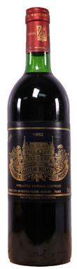 Château Palmer, Margaux, 3ème Cru Classé, Bordeaux, 1982