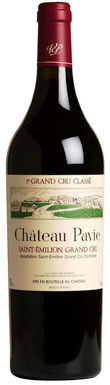 Château Pavie, St Emilion, Premier Grands Crus Classes A,