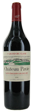 Château Pavie, St-Émilion, 1er Grand Cru Classé A, 2006
