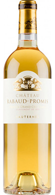 Château Rabaud-Promis, Sauternes, 1er Cru Classé, 2018