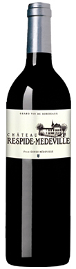 Château Respide-Medeville, Graves, Bordeaux, France, 2016