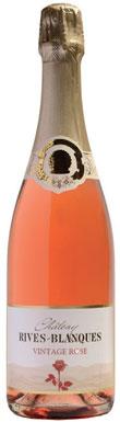 Château Rives-Blanques, Crémant de Limoux, Vintage Rosé,