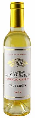 Château Sigalas Rabaud, Sauternes, 1er Cru Classé, 2014