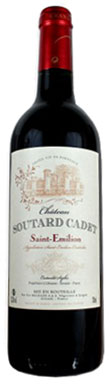 Château Soutard-Cadet, St-Émilion, Grand Cru, 2017