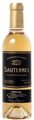 Château Suduiraut, Waitrose Sauternes, Sauternes, 2010