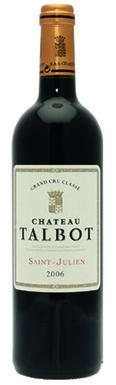 Château Talbot, St-Julien, 4ème Cru Classé, 2006