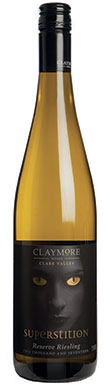 Claymore Wines, Clare Valley, Superstition Riesling, 2017