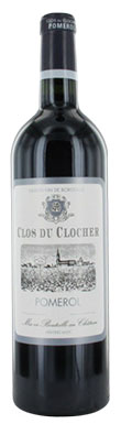 Clos du Clocher, Pomerol, Bordeaux, France, 2014