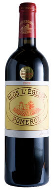 Clos L'Eglise, Pomerol, Bordeaux, France, 2012