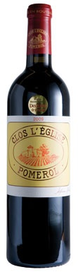 Clos L'Eglise, Pomerol, Bordeaux, France, 2008
