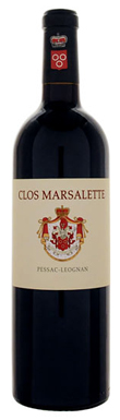 Clos Marsalette, Pessac-Léognan, Bordeaux, France, 2012