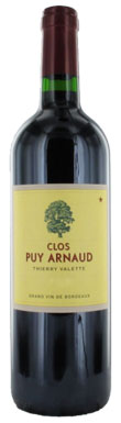 Clos Puy Arnaud, Côtes de Bordeaux, Bordeaux, France, 2012