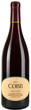 Cobb, Coastlands Vineyard 1906 Block Mount Eden Pinot Noir