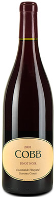 Cobb, Coastlands Vineyard Pinot Noir, Sonoma County, Sonoma