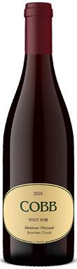 Cobb, Monticue Vineyard Pinot Noir, Sonoma County, Sonoma