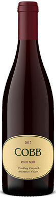 Cobb, Wendling Vineyard Pinot Noir, Mendocino County