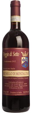 Poggio di Sotto, Brunello di Montalcino, Tuscany, 2012