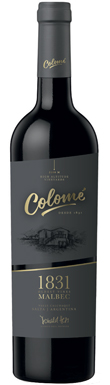Bodega Colomé, 1831 Malbec, Calchaquí Valley, Salta, 2016