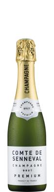 Comte de Senneval, Brut Premium, Champagne, France