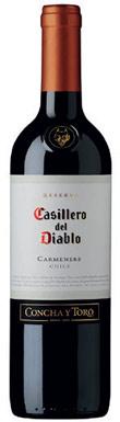 Concha y Toro, Casillero del Diablo Carmenere, 2015