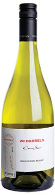 Cono Sur, 20 Barrels Sauvignon Blanc, 2013