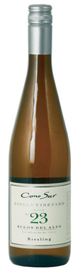 Cono Sur, Rulos del Alto Single Vineyard Block 23 Riesling