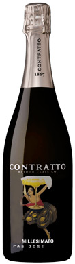 Contratto, Millesimato Pas Dose, Alta Langa, Piedmont, 2014