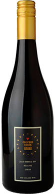 Coopers Creek, Reserve Syrah, Hawke's Bay, New Zealand, 2013