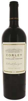 Corley, State Lane Vineyard Cabernet Sauvignon, Napa Valley