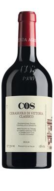 COS, Cerasuolo di Vittoria Classico, Sicily, Italy, 2015