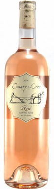 County Line Vineyards, Anderson Valley, Rosé, 2016