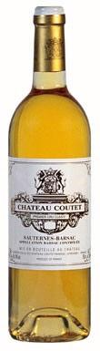Château Coutet, Sauternes, 1er Cru Classé, Bordeaux, 2016