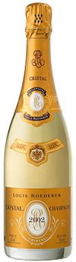 Louis Roederer, Cristal (Magnum), Champagne, France, 2002