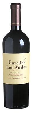 Cuvelier Los Andes Grand Malbec, Argentina, 2013