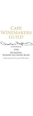 De Grendel, Wooded Sauvignon Blanc, Darling, 2019