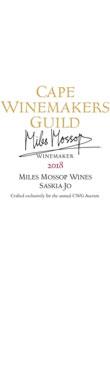 Miles Mossop Wines, Saskia-Jo, Paardeberg, Swartland, 2018