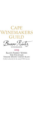 Raats, The Fountain Terroir Specific Chenin Blanc, 2019