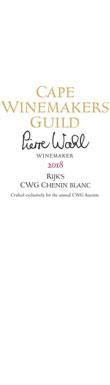 Rijk's, CWG Chenin Blanc, Tulbagh, South Africa, 2018