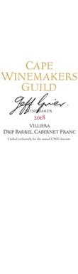 Villiera, Drip Barrel Cabernet Franc, Stellenbosch, 2018