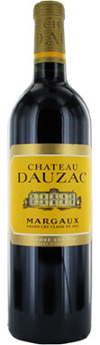 Château Dauzac, Margaux, 5ème Cru Classé, Bordeaux, 2010