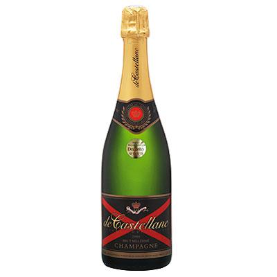 De Castellane, Brut, Champagne, France, 2004