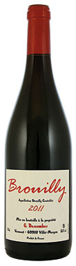 Domaine Georges Descombes, Beaujolais, Brouilly, 2011