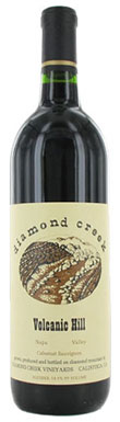 Diamond Creek, Napa Valley, Volcanic Hill Cabernet