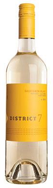 District 7, Monterey, Sauvignon Blanc, California, USA, 2015