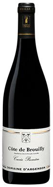 Domaine d'Argenson, Cuvée Première, Beaujolais, Côte de