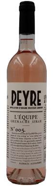 Domaine des Peyre, L'Equipe Rosé, Luberon, Rhône, 2017