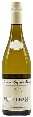 Domaine Séguinot-Bordet, Chablis, Petit Chablis, 2018
